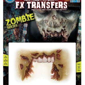 3d Erikoistehoste Zombie Missing Jaw
