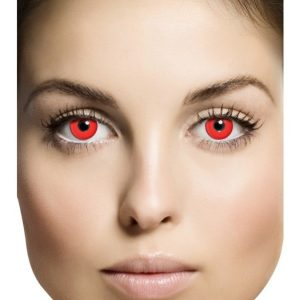 Bloody Red Kertakäyttölinssit