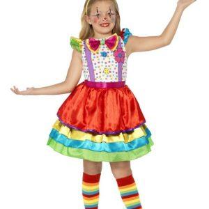 Clown Naamiaisasu Lapset