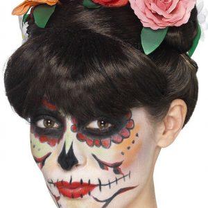 Day Of The Dead Frida Peruukki