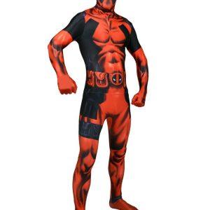 Deadpool Deluxe Morphsuit Naamiaisasu