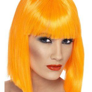 Glam Peruukki Oranssi
