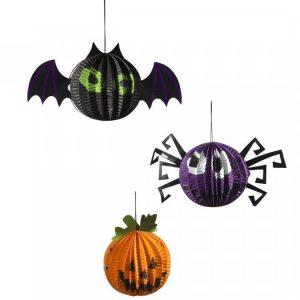 Halloween Koristeet 3 Kpl/Pakkaus