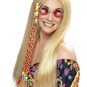 Hippi Peruukki Vaalea