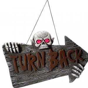 Hohtava Kyltti Turn Back
