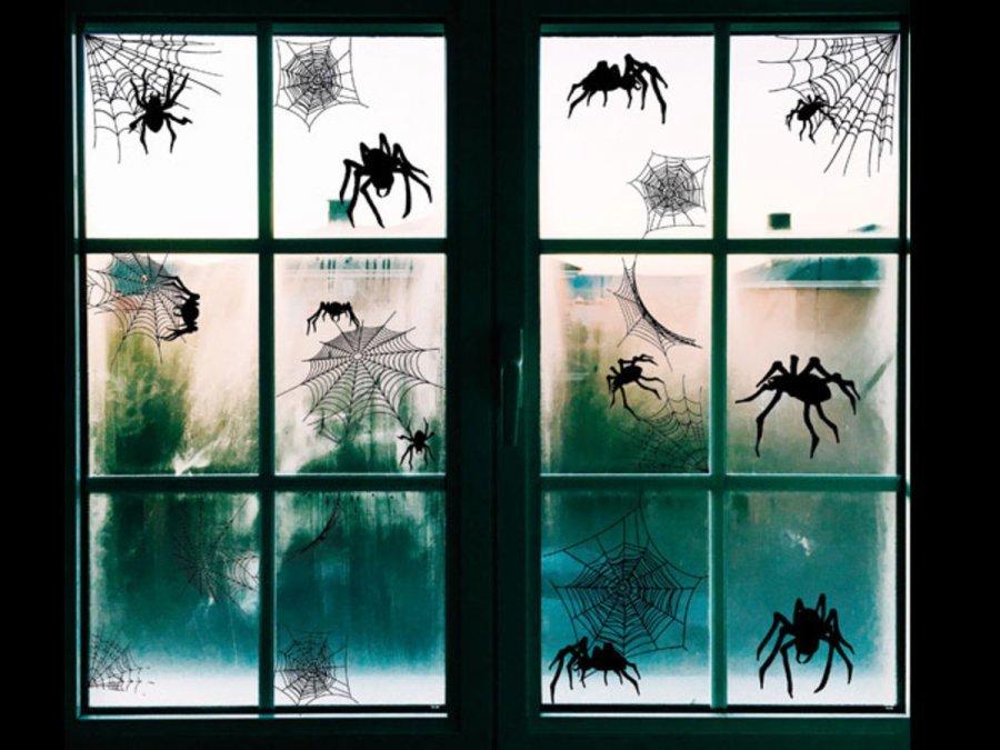 Ikkunakoristeet Hämähäkki