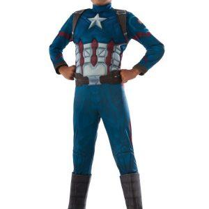 Kapteeni Amerikka Naamiaisasu Lapset