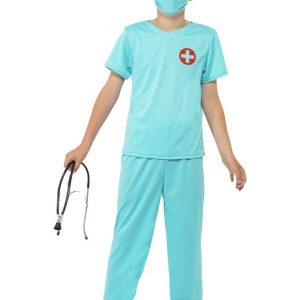 Lääkäri Lasten Naamiaisasu