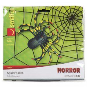 Musta Hämähäkinseitti Hämähäkeillä