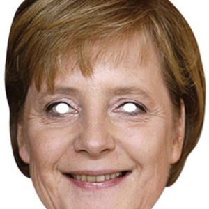 Pahvinaamari Angela Merkel