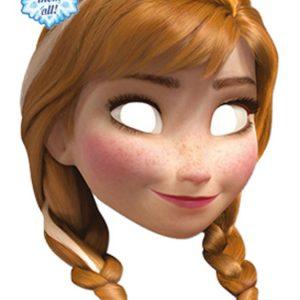 Pahvinaamari Frozen Anna
