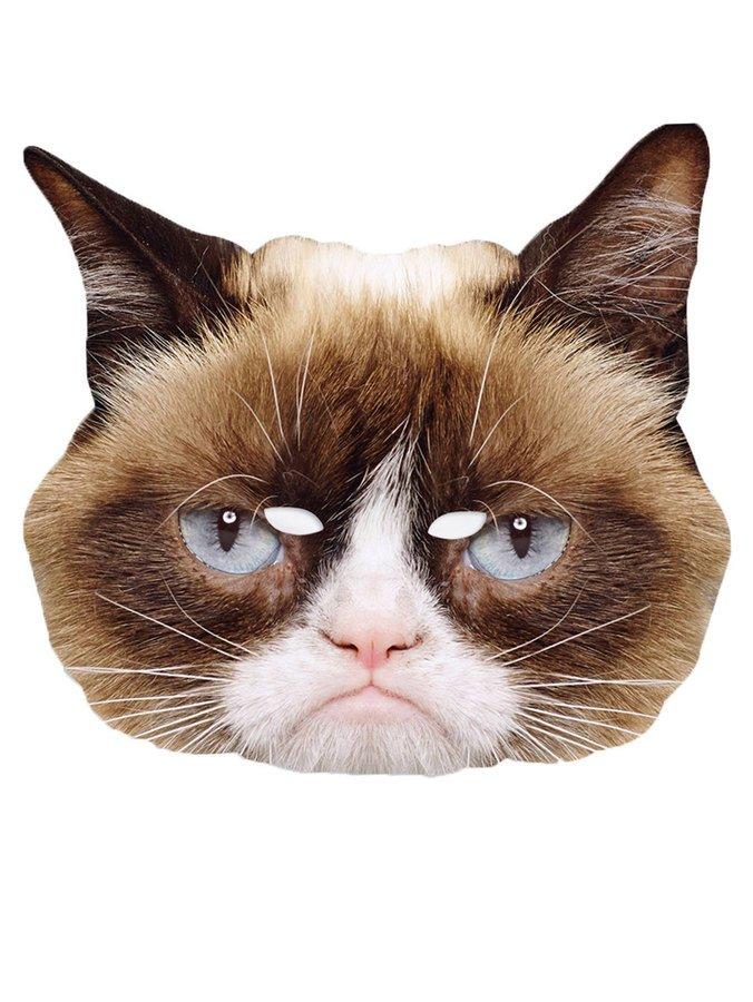 Pahvinaamari Grumpy Cat