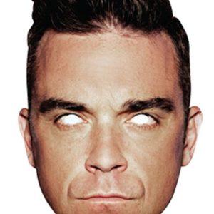 Pahvinaamari Robbie Williams