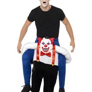 Piggy Back Sinister Clown Naamiaisasu