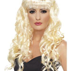 Seireeni Peruukki Vaalea