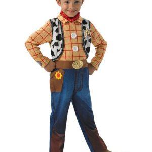 Toy Story Woody Naamiaisasu Lapset