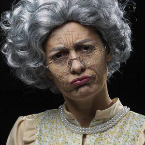 Vanha Nainen Meikkisetti