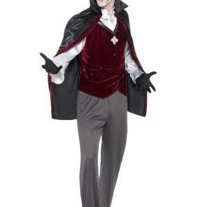 Verenhimoinen Vampyyri Naamiaisasu