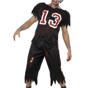 Zombie Amerikkalainen Jalkapallo Naamiaisasu