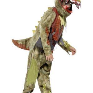 Zombie Dinosaurus Naamiaisasu Lapset