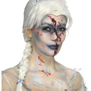Zombie Jääkuningatar Peruukki