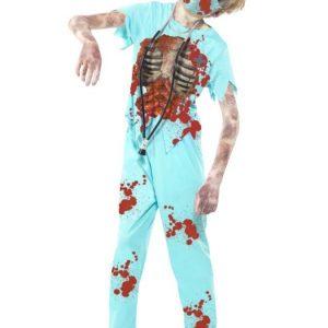 Zombie Kirurgi Naamiaisasu Lapset
