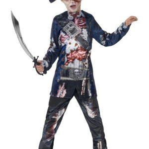 Zombie Merirosvo Naamiaisasu Lapset