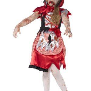 Zombie Miss Hood Naamiaisasu Lapset