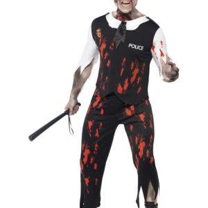 Zombie Poliisi Naamiaisasu