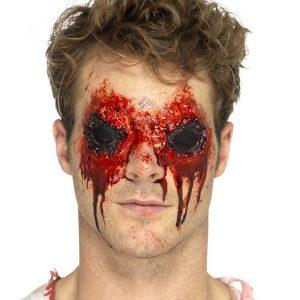 Zombien Silmäkuopat Lateksi Erikoistehoste