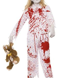 Zombietyttö Naamiaisasu Lapset